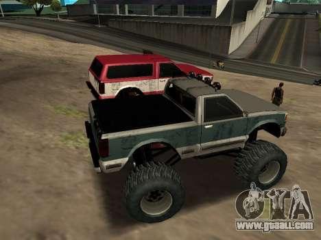 Street Monster for GTA San Andreas inner view