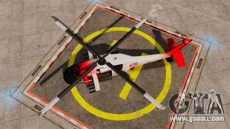 Annihilator U.S. Coast Guard HH-60 Jayhawk for GTA 4 right view