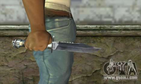 The knife from Stalker for GTA San Andreas third screenshot