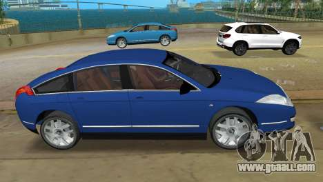 Citroen C6 for GTA Vice City left view