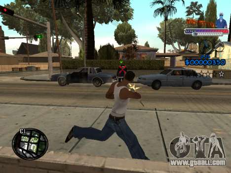 The new C-HUD Ghetto for GTA San Andreas forth screenshot