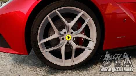 Ferrari F12 Berlinetta 2013 [EPM] Deaths-head for GTA 4 back view