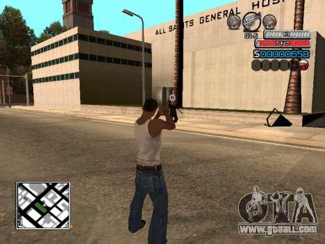 The new C-HUD for GTA San Andreas third screenshot