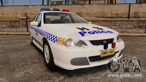 Ford Falcon XR8 Police Western Australia [ELS] for GTA 4