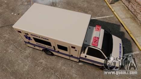 Brute MPMU Ambulance for GTA 4 right view