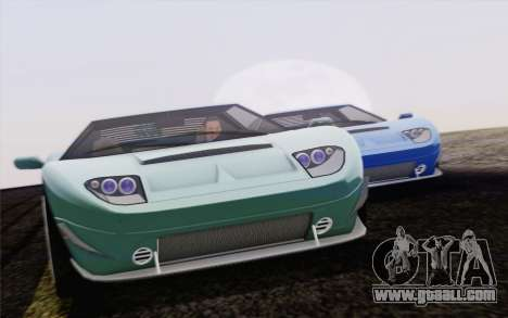 Vapid Bullet GT из GTA 5 for GTA San Andreas