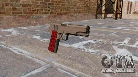 Guns Colt 1911 Chrome for GTA 4