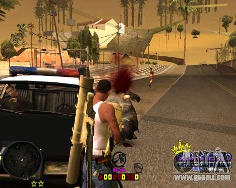C-HUD Old Ghetto for GTA San Andreas forth screenshot
