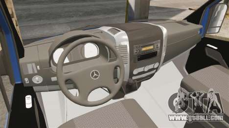 Mercedes-Benz Sprinter 2011 WWE Ultimate Warrior for GTA 4 back view