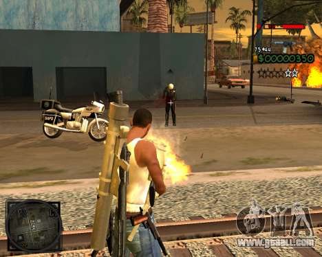 C-HUD Lite v2.0 for GTA San Andreas third screenshot