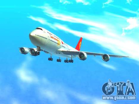 Boeing 747 Air China for GTA San Andreas upper view