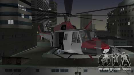 Bell HH-1D for GTA Vice City side view