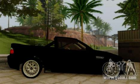 BMW M3 for GTA San Andreas back view