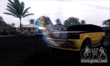 Lensflare By DjBeast for GTA San Andreas