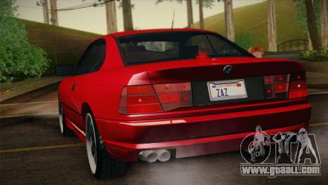BMW M8 Custom for GTA San Andreas left view