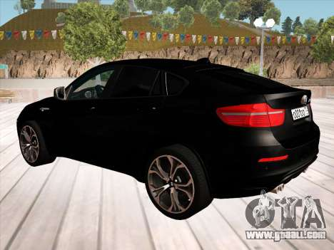 BMW X6M 2010 for GTA San Andreas