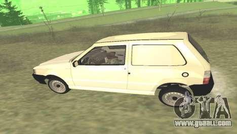 Fiat Uno Fire Cargo for GTA San Andreas right view