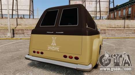 Vapid Slamvan for GTA 4 back left view