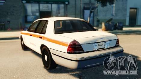 Ford Crown Victoria 2007 Vodafone for GTA 4 left view