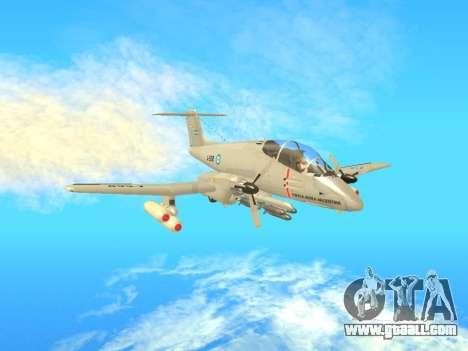 FMA IA-58 Pucara for GTA San Andreas