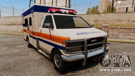 Brute CHMC Ambulance for GTA 4