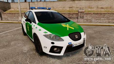Seat Cupra Guardia Civil [ELS] for GTA 4