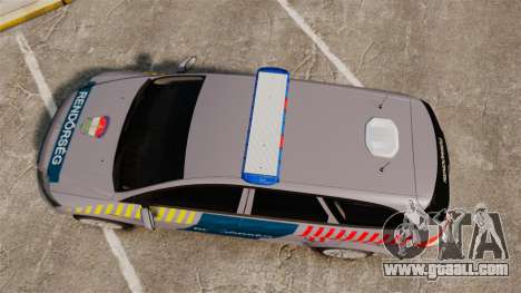 Ford Mondeo Hungarian Police [ELS] for GTA 4 right view