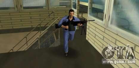 M249 из Battlefield 2 for GTA Vice City second screenshot