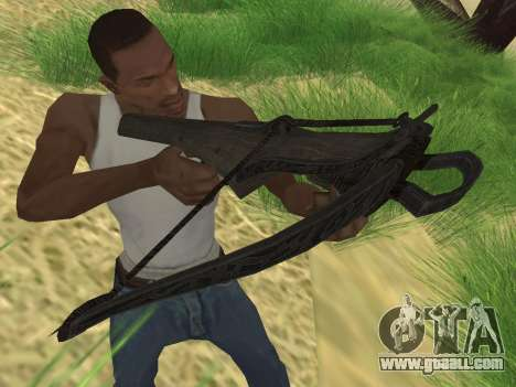 Crossbow from Skyrim for GTA San Andreas second screenshot