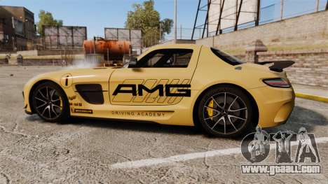Mercedes-Benz SLS 2014 AMG Driving Academy v2.0 for GTA 4 left view