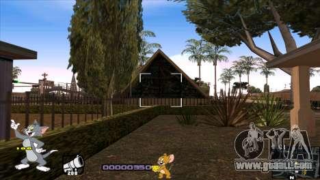 C-HUD Tom and Jerry for GTA San Andreas sixth screenshot