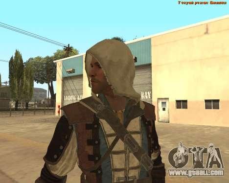 Assassin Edward for GTA San Andreas forth screenshot