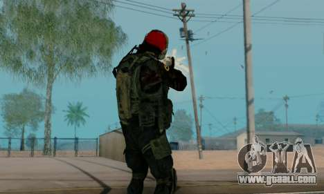 Kopassus Skin 1 for GTA San Andreas eleventh screenshot