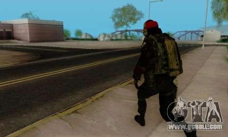 Kopassus Skin 1 for GTA San Andreas twelth screenshot