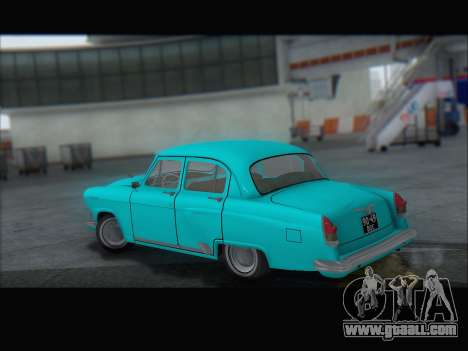 GAZ 21 for GTA San Andreas side view