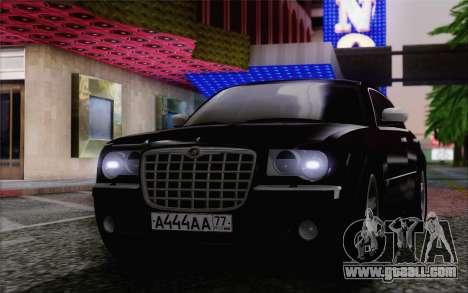 Chrysler 300C 2009 for GTA San Andreas back left view