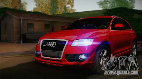 Audi Q5 2012 for GTA San Andreas back view
