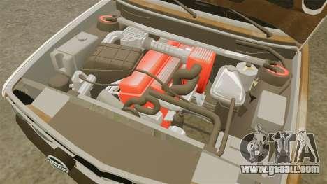 BMW 535is E28 Sharkie for GTA 4 inner view
