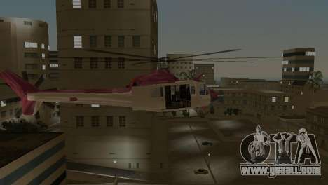 Bell HH-1D for GTA Vice City back view