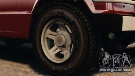 Mitsubishi Pajero I WAGON for GTA 4 right view