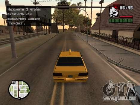 AutoDriver for GTA San Andreas