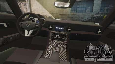 Mercedes-Benz SLS 2014 AMG UAE Theme for GTA 4 side view