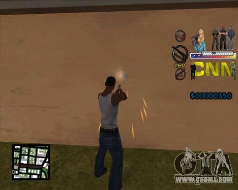 C-HUD CNN for GTA San Andreas second screenshot