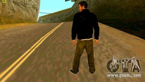 The new texture Claude for GTA San Andreas second screenshot