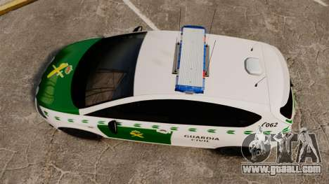 Seat Cupra Guardia Civil [ELS] for GTA 4 right view