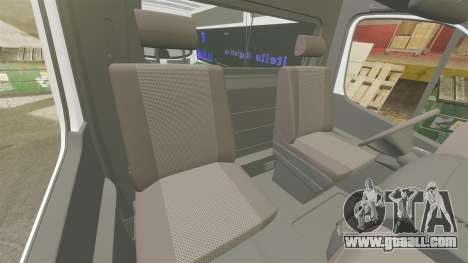 Mercedes-Benz Sprinter Itella Logistics for GTA 4 inner view