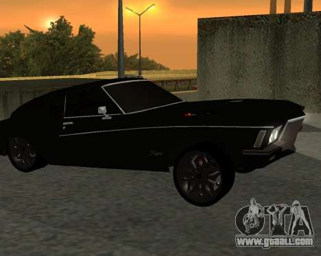 Buick Riviera 1972  Classic for GTA San Andreas right view