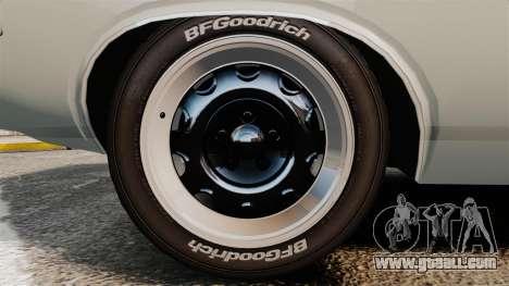 Dodge Challenger 1971 Vanishing Point for GTA 4 back view