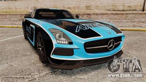 Mercedes-Benz SLS 2014 AMG Black Series Area 27 for GTA 4