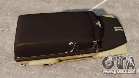 Vapid Slamvan for GTA 4 right view